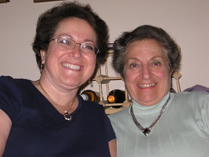 A photo of Donna and Marjorie